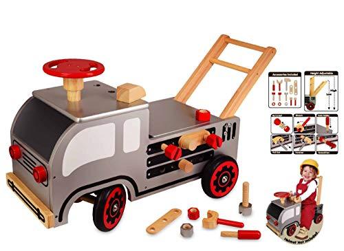 Schiebewagen Bauspiele Aus Holz