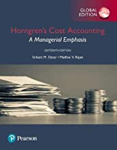 Horngren`s Cost Accounting plus Pearson MyLab Accounting with Pearson eText, Global Edition By Srikant M. Datar , Madhav V...