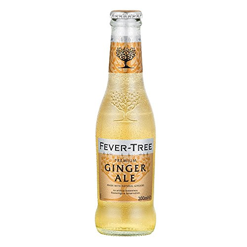 Fever Tree Light Ginger Ale, 24 x 20 cl