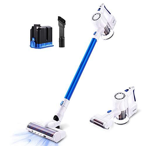 Find Bargain Cordless Vacuum Cleaner, SIMPFREE 22KPa Powerful Suction Lightweight Stick Vacuum, Hand...