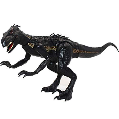 Mliu Juguete de Dinosaurios, Dinosaurios realistas de Raptor Jurassic, Figura de acción móvil Dinosaurios clásicos, decoración de habitación de Regalo de cumpleaños para niños (27 x 15 cm)