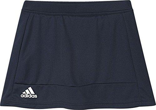 adidas Falda con pantalón Interior T16 Skort YG, otoño/Invierno, Mujer, Color Azul Marino y Blanco, tamaño 164