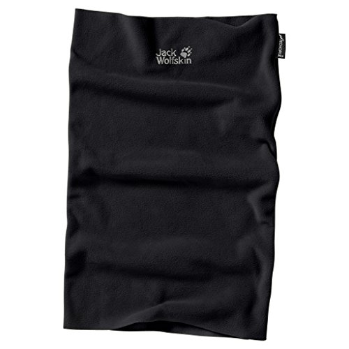Jack Wolfskin REAL Stuff Loop Fleeceschal, Black, ONE Size