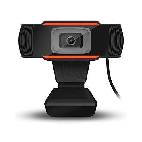 1080P HD Webcam Streaming Camera For Gaming Meetings Portable Desktop Webcam USB Computer Camera Free Drive Installation Fast Autofocus Webcam for Video Calling Streaming Conference Gami