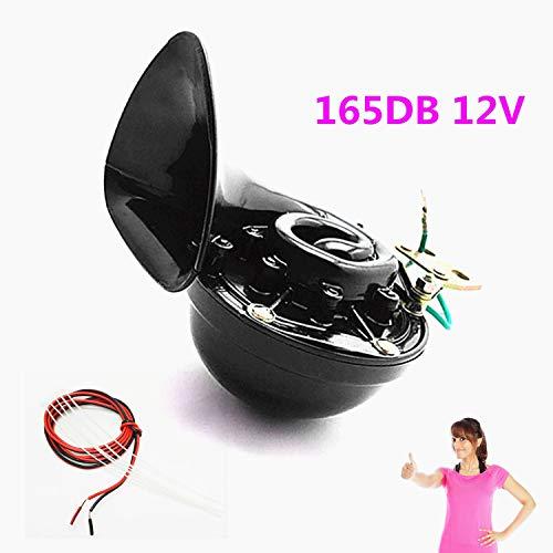 YIYIDA Bocina de coche Car Horn Bocina eléctrica para auto165DB Cuerno de...