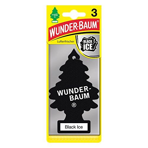 Wunderbaum 171239 Black Ice, 3-er Pack