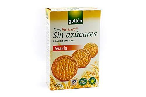 'Gullón Maria Diet Nature Galleta Desayuno y Merienda sin Azúcares Añadidos -...
