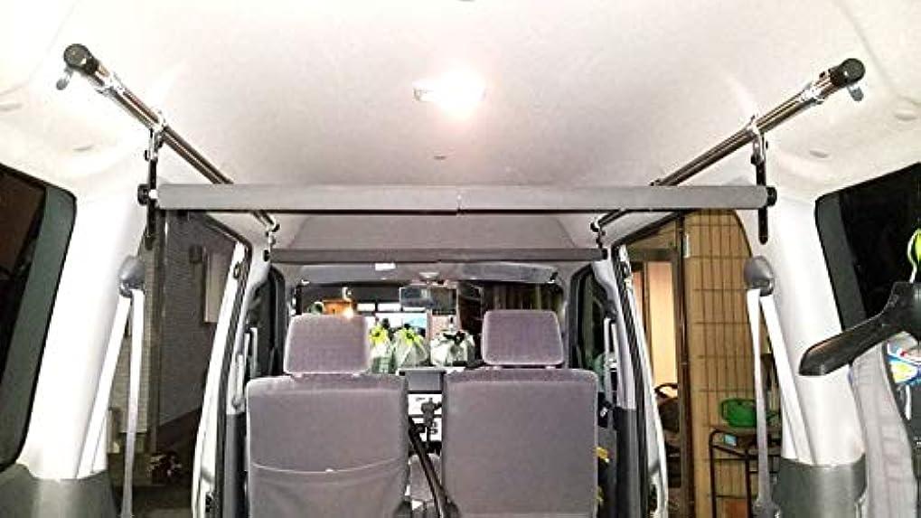 獣雪だるまを作る収縮アトレーワゴン(5代目?S300系) 車内キャリア