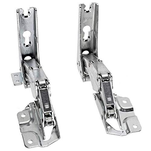 AEG Kühlschrank Gefrierschrank integrierte Tür Scharnier (links und rechts Scharniere Paar)