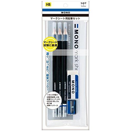 トンボ鉛筆 鉛筆 MONO モノマークシート用セット HB MA-PLMKN