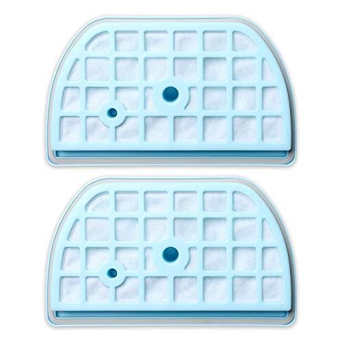 SDFIOSDOI Piezas de aspiradora Filtros de Malla de Polvo Filtros pre-Motor Ajuste para LG ADQ73393603 VK70501N VK70502N VK70601NU VK70607HU Piezas de aspiradora (Color : 2 Set)