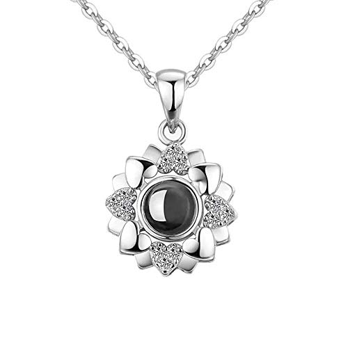 Hantaostyle I Love You Necklace
