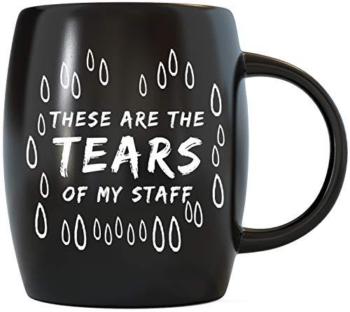 Funny Coworker Boss Gifts Tear Drops Tears of My Staff Office Humor...