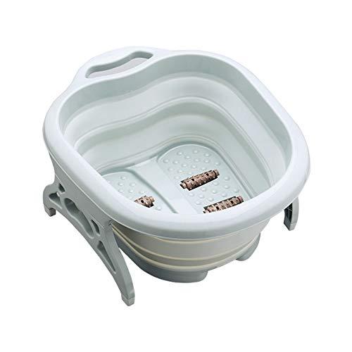 Fußbad LKU Massage Barrel Bubble Foot Barrel Klappbecken Spa Fuß Bad Barrel Home Sauna Barrel Pediküre Bad Barrel, 02