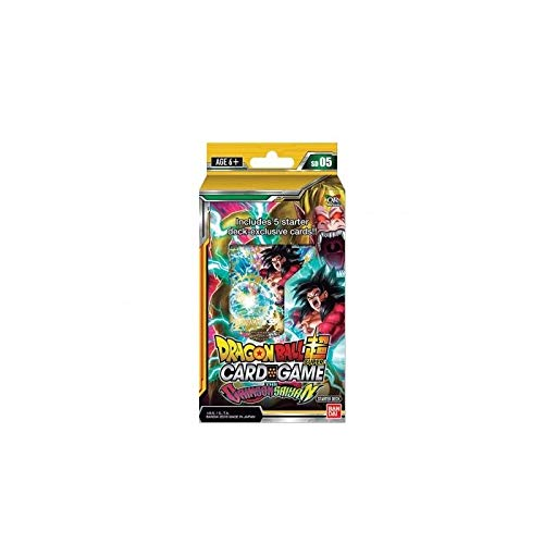 DRAGON BALL SUPER Card Games - Starter 05 / FR - Boite de 6