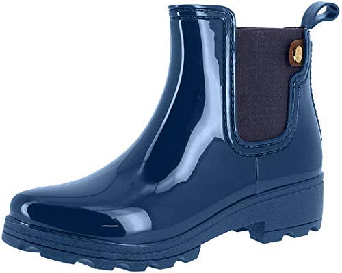Gioseppo 40840, Botas Slouch para Mujer, Azul Marino, 36 EU