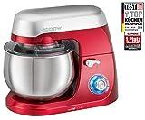 Clatronic KM 3709 robot da cucina 5 L Rosso 1000 W