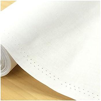 お名前付け用に 白い布 生地 キャラコ 綿 布地 手芸【1m単位】
