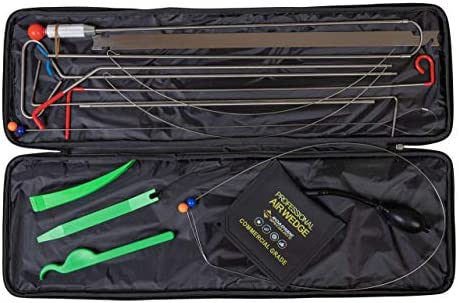 Roadside Specialists Automotive Tool Kit with Long Reach Grabber Air Wedge Pump Non Marring product image