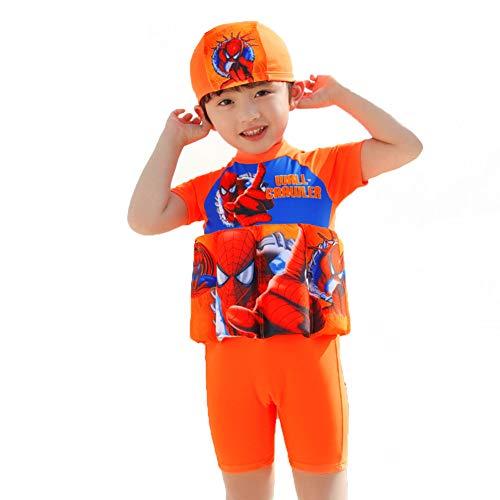 LFF SWIM Einteiliger Schwimmanzug Schwimmweste Auftrieb Sicherheit Schwimmbekleidung Jungen Mädchen für Kinder Geeignet zum Schwimmen Waten Sport,E,XL