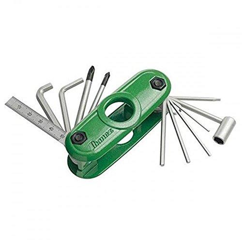 IBANEZ Multitool - 11 Werkzeuge in Einem - Green