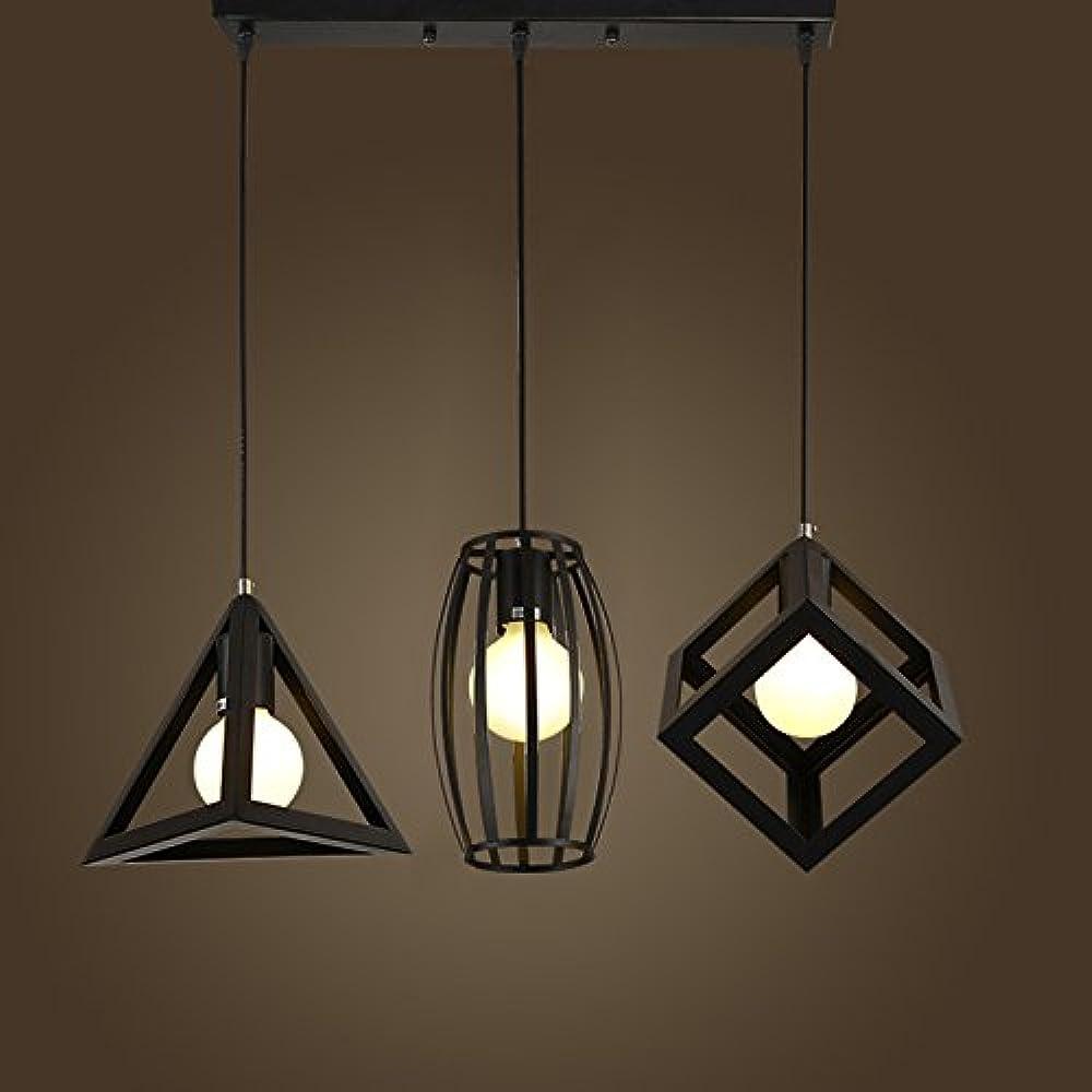 Xajgw lampadari moderno semplice loft in ferro battuto