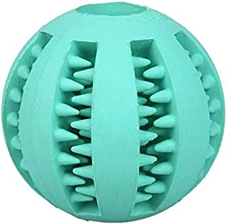 DORLIONA 5/7cm Pet Toys Rubber Funny Interactive Ball for Dog Cat Puppy Elasticity Chew Tooth Cleaning Playing Feeding and...