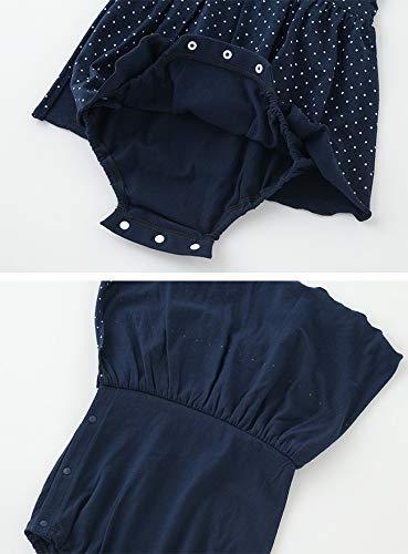 ニシキチャックルベビー『ボンシュシュワンピース風スカート付きロンパース(P2006)』