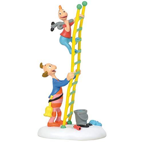 Department 56 6003321 Dr. Seuss The Grinch Village Accessories Little Flue Who Figurine, 4 Inch, Multicolor
