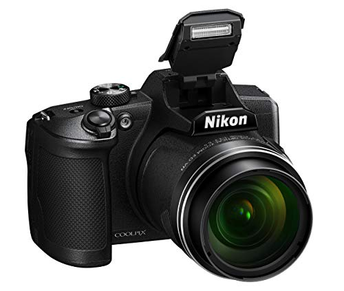 Nikon Coolpix B600 Bridge-Kamera, 16 Megapixel, 60X Zoom, Full HD, CMOS-Sensor bei schlechten Lichtverhältnissen, Bluetooth, Wi-Fi