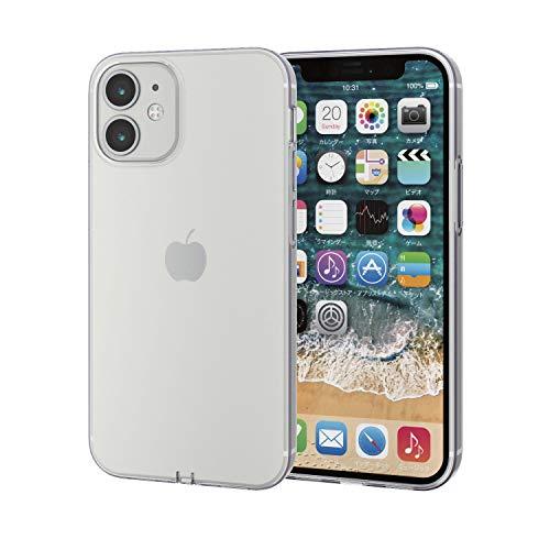 エレコム iPhone 12 mini ケース ソフト 極み クリア PM-A20AUCTCR