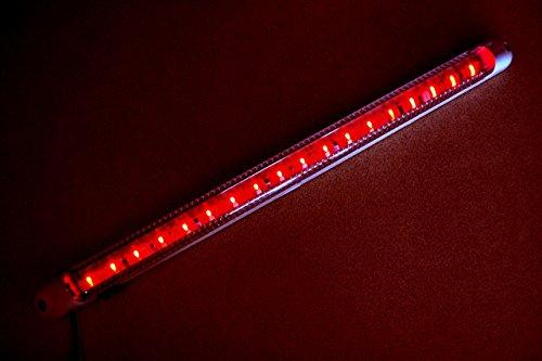 Lampe zur Pkw-Innenraumbeleuchtung, rot, mit Ein-/Ausschalter, 18LEDs, 24V, 400mm, für Pkw, Kleintransporter, Bus, Wohnwagen, SUV, Lkw
