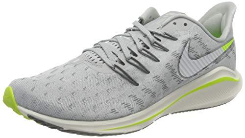 Nike Air Zoom Vomero 14 Men's RUNNI, Scarpe da Corsa Uomo, Grey Fog/Sail-Smoke Grey-Volt, 42 EU