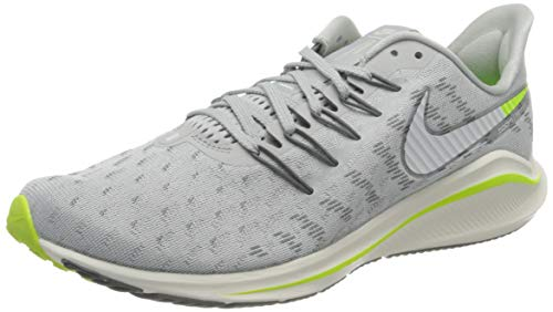 Nike Herren Air Zoom Vomero 14 Men's Runni Laufschuh, Grey Fog/Sail-Smoke Grey-Volt, 44 EU