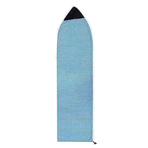 OUZHOU Funda protectora para tabla de surf, bolsa ligera para tabla de surf, longboard para tu tabla de surf, bolsa protectora de poliéster, bolsa ligera con cordón de 70 a 90 pulgadas