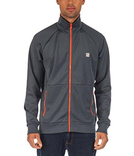 Bench Herren Sweatshirt Trikotjacke Factual blau (Dark Slate) Small