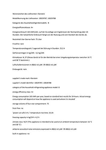 KLARSTEIN CO2-Garfield-1400-klgw