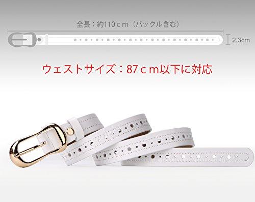 レディース本革 ベルト レザーベルトカジュアル シンプル 耐久性 軽量 細ベルトファッション 人気 フリーサイズ JA030