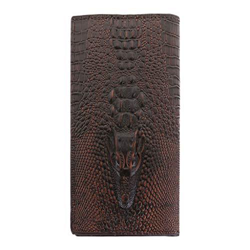 Yushu Herren Geldbörse Bifold ID Card Holder Wallet Case Lange Clutch Billfold 2021 Schultertasche Geldbörse und Handtasche Damen Lippenstift Damen Kapazität