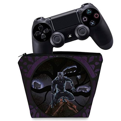 Capa PS4 Controle Case - Pantera Negra