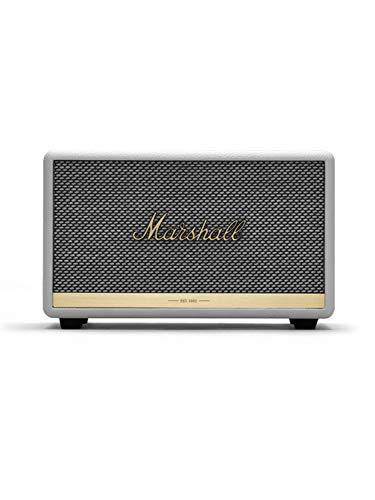 Marshall ワイヤレススピーカー ACTON II ホワイト Bluetooth対応 【国内正規品】