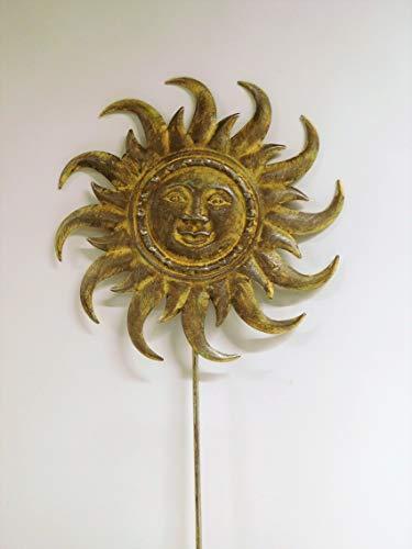 Ziegler Sonne auf Stab Rankstab Rosenstab Gartenstecker H 180 cm WK061206