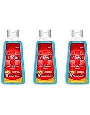 NIINE Liquid based Hand Sanitizer with Goodness of Lemon and Neem, 70% Alcohol