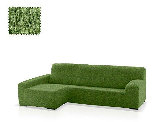 JM Textil Funda de sofá Chaise Longue Eneasis, Brazo Izquierdo, tamaño estándar (220-280 Cm.), Color 04