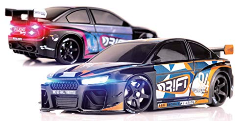 DR!FT Racer Spielkind Gymkhana Edition ferngesteuertes Drift Auto, Rc Car mit realistischer Fahrdynamik zur Steuerung mit iPhone oder Android, reales Fahrverhalten simuliert via App