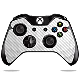 MightySkins Carbon Fiber Skin for Microsoft Xbox One or One S Controller - Golf | Protective, Durable Textured Carbon...