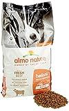 Almo Nature Pienso para Perros Medianos Holistic Dry Buey (12 kg). Alimento para Perros Seco Alto en Proteínas para Razas Medianas con Sabor a Carne Fresca. Comida Seca de Fácil Digestión