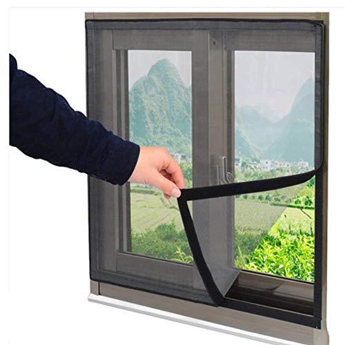 Katzenschutznetz für Fenster, selbstklebend, ultrafeines Netz, einfach zu installieren, ohne Bohren, Fensterschutz, Netzvorhang gegen Insekten