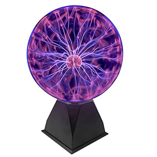 EasyGo Product 8 Inch Plasma Ball Tornado Touch &...