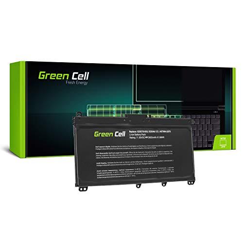 Green Cell® Standard Serie TF03XL HSTNN-LB7X 920046-421 920070-855 Batería para HP 14-BP Pavilion 14-BF 14-BK 15-CC 15-CD 15-CK 17-AR Ordenador (3 Celdas 3600mAh 11.5V Negro)